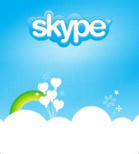 برنامج Skype على متجر البرامج