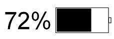 كيفية إظهار النسبة المئوية للبطارية