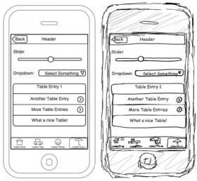 تصميم واجهة برامج الأي-فون