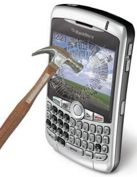 عالم الاعمال والشركات يودع البلاك بيري ويستعد للآي فون والآي باد