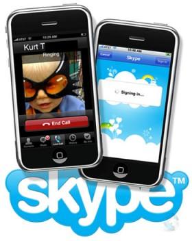أخيراً سكايب يدخل مجال المكالمات المرئية في الآي فون