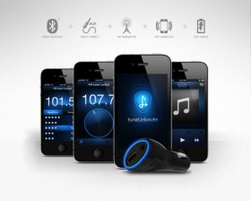 انقل الصوت لاسلكياً من جهازك الى سماعات سيارتك مع TuneLink Auto