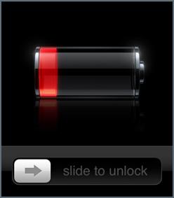 مشكلة استهلاك البطارية في iOS5