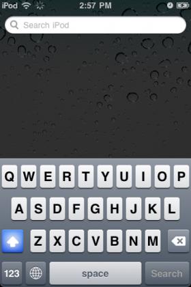 تلميحات عن طريقة استخدام لوحة المفاتيح في الآي-فون