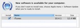 ترقية برنامج أيتيونز للإصدار 10.4.1