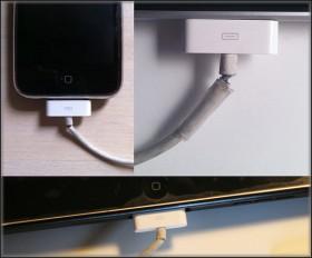 فكرة مبتكرة للحفاظ على كابل الأي-فون و الأي-باد من التلف