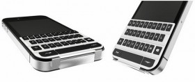 لوحة المفاتيح الذكية للأي-فون تحاكي الغطاء الذكي للأي-باد