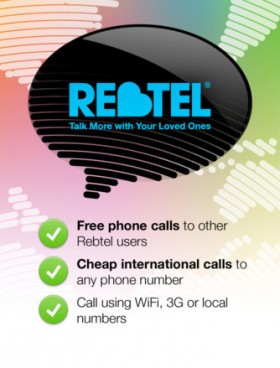 تطبيق Rebtel للاتصال الدولي وعرض خاص من آي-فون إسلام