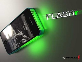 استقبل التنبيهات والمكالمات بأضواء مبهرة مع FLASHr