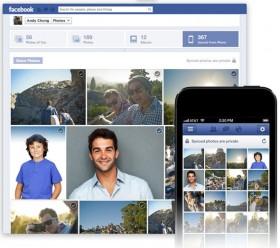 الفيس بوك تبدأ خدمة مزامنة الصور مع أجهزة iOS