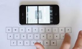 طالب يقدم لوحة مفاتيح خفية للآي فون