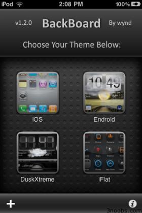 Backboard: للتحكم في ثيمات ومظهر الآي-فون