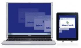 برنامج MaxiVista يحول الآي-باد الي شاشة إضافية
