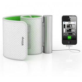 عرض لجهاز قياس ضغط الدم بأستخدام الأيفون والأيباد