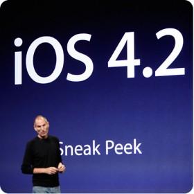 النسخة التجريبية الجديدة من نظام iOS 4.2 للآي-باد