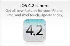 التحديث الجديد 4.2 iOS قادم اليوم