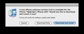 الأن ال iOS 4 متاح للتنزيل