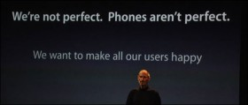 """آبل تقول """"نحن لا ندعي الكمال، والهواتف ليست مثالية"""""""