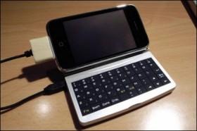 لوحة مفاتيح خارجية للآي-فون