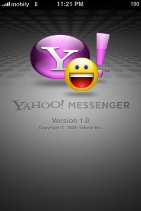 برنامج Yahoo Messenger فى متجر البرامج