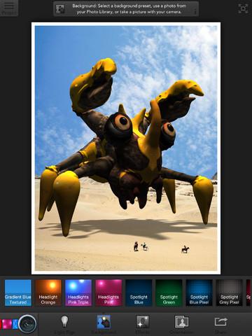 تطبيق 123D Creature لرسم شخصيات