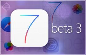 أبل تطلق iOS 7 بيتا 3 بتحسينات وإصلاحات عديدة