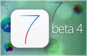 أبل تطلق iOS 7 بيتا 4 بتحسينات وإشارات للآي فون 5S