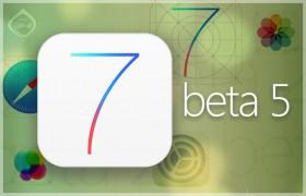 أبل تصدر البيتا 5 لنظام iOS 7