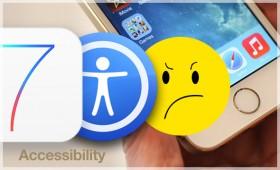 نظام iOS 7 جعل الحياة أصعب على الكفيف العربي