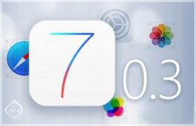 تحديث جديد لنظام أي أو إس ليصبح الإصدار 7.0.3