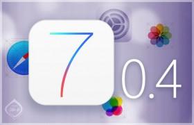 تحديث جديد لنظام أي أو إس ليصبح الإصدار 7.0.4