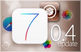 رقٍ جهازك الآن إلى 7.0.4 قبل فوات الأوان