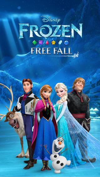 تطبيق Frozen-Free-Fall