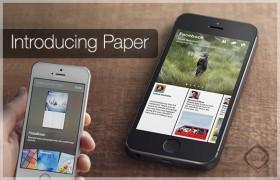ماذا تخطط فيسبوك لتطبيق Paper ؟