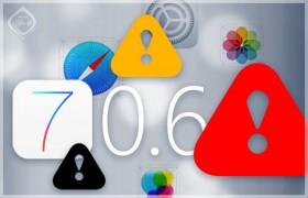 حدث جهازك فوراً إلى iOS 7.0.6