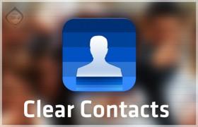 كيف ترسل رسائل جماعية بـ Clear Contacts