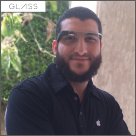 فتح صندوق نظارة جوجل