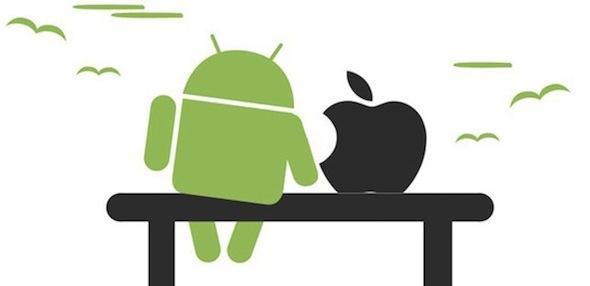 الأندرويد و iOS أيهما يصبح الآخر أولاً؟