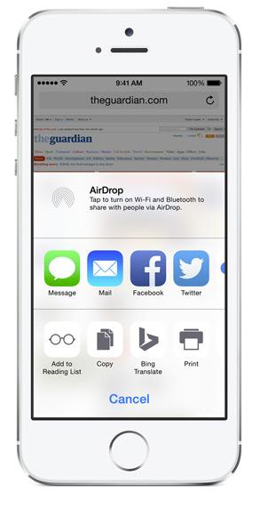Action-iOS-8