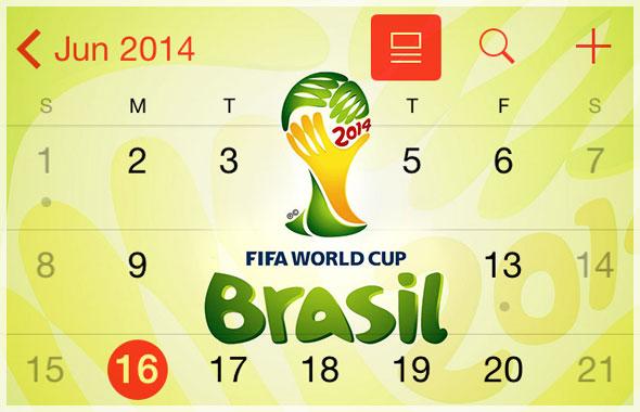 كيف تضيف مباريات كأس العالم لتقويم جهازك؟