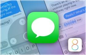 ما الجديد فى تطبيق الرسائل فى iOS 8؟