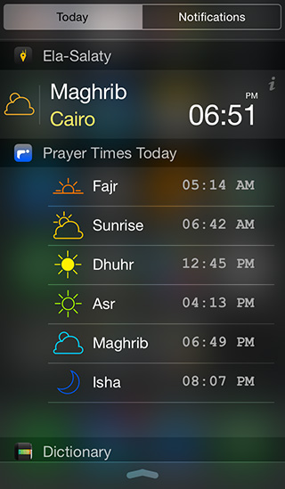 PrayerTimesToday_Widget