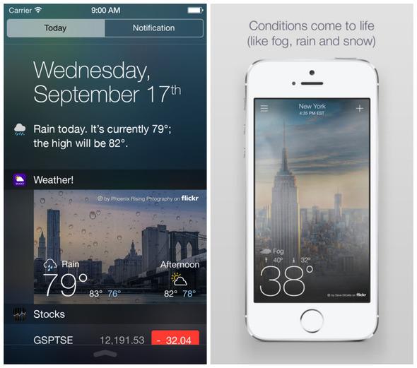 Yahoo_Weather_widget