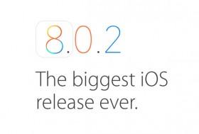 آبل تصدر التحديث iOS 8.0.2