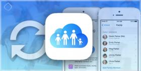 المشاركة العائلية في iOS 8