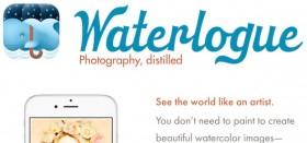 [1] تطبيق مجاني من متجر أبل – Waterlogue
