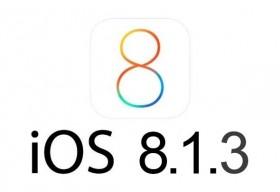 أبل تصدر التحديث iOS 8.1.3