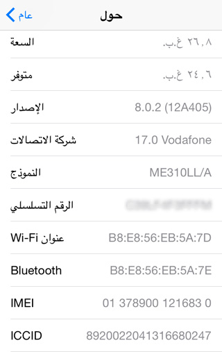 iPhone-Serial