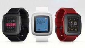 شكل جديد للساعات الذكية مع Pebble Time