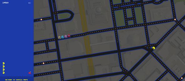 PacManGoogleMap